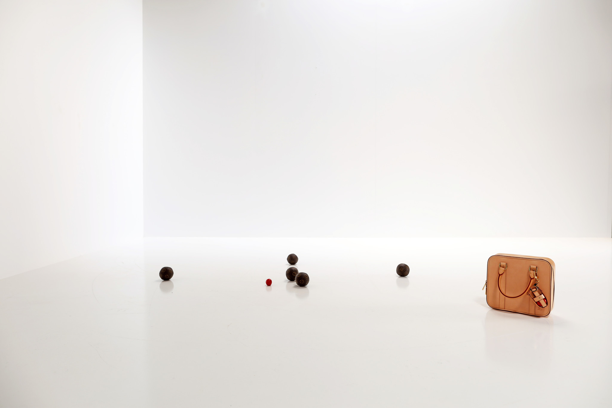 Limited edition Louis Vuitton Petanque Ball Set, 2007