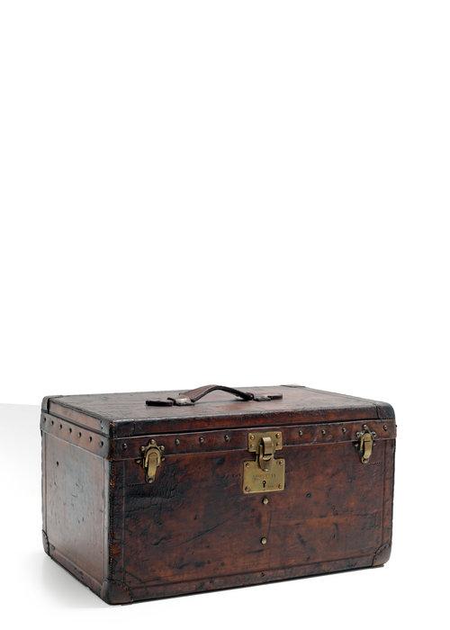 Louis Vuitton hat suitcase