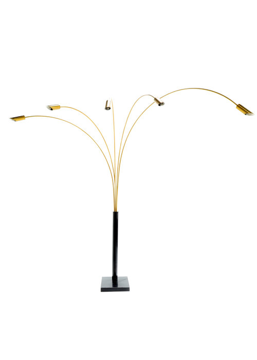 Italian arc lamp, 1970s