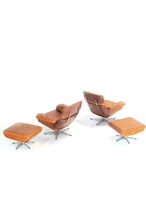 Lounge chair set, 1960's