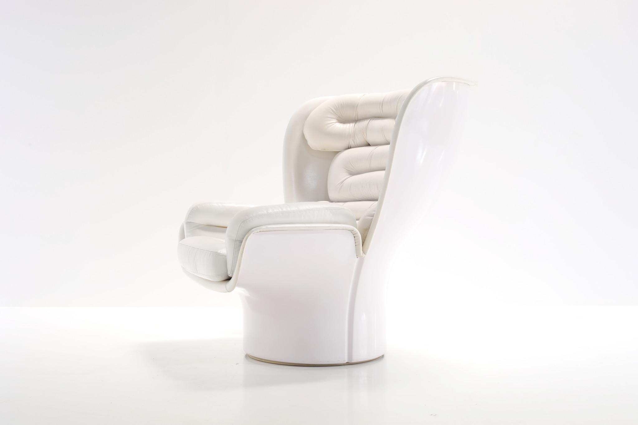 Elda Chair by Joe Colombo for comfort, 1960s