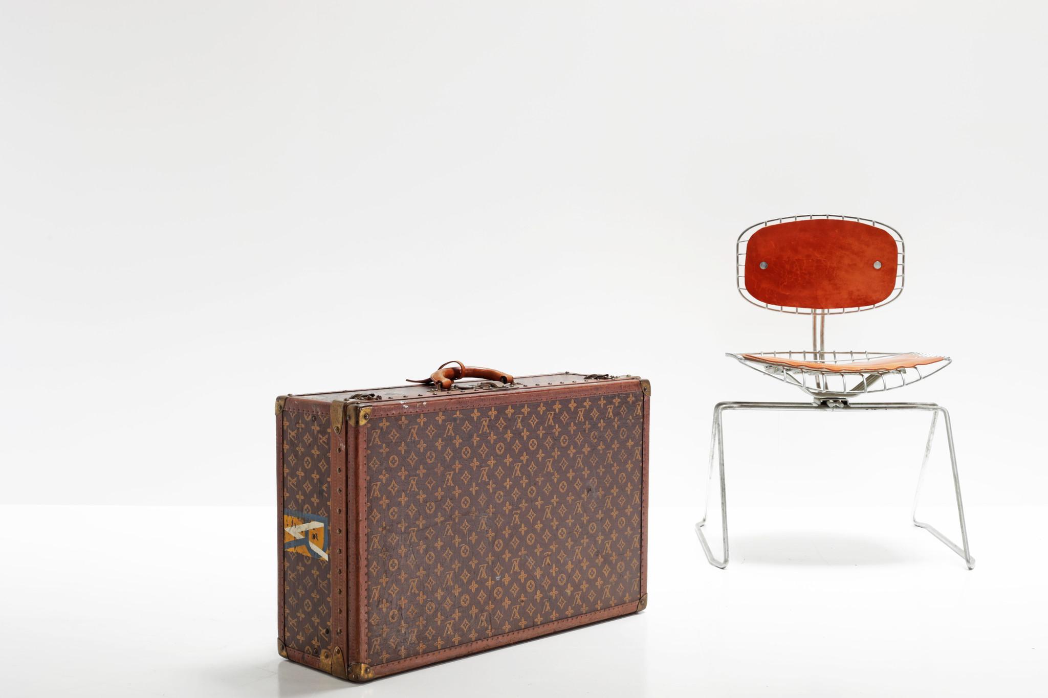 Louis Vuitton suitcase, 1950's
