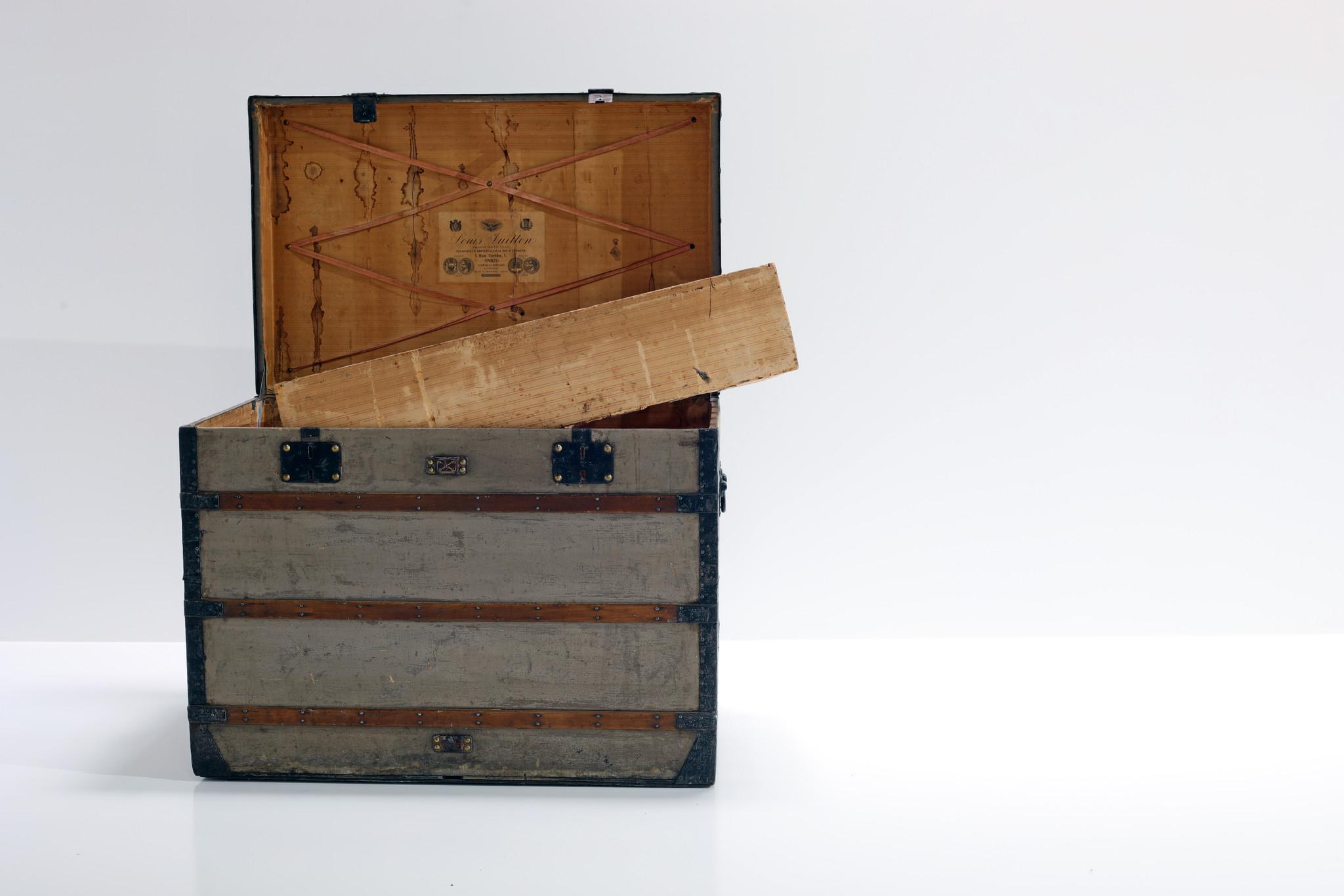 "1st Louis Vuitton trunk  ""Trianon"""