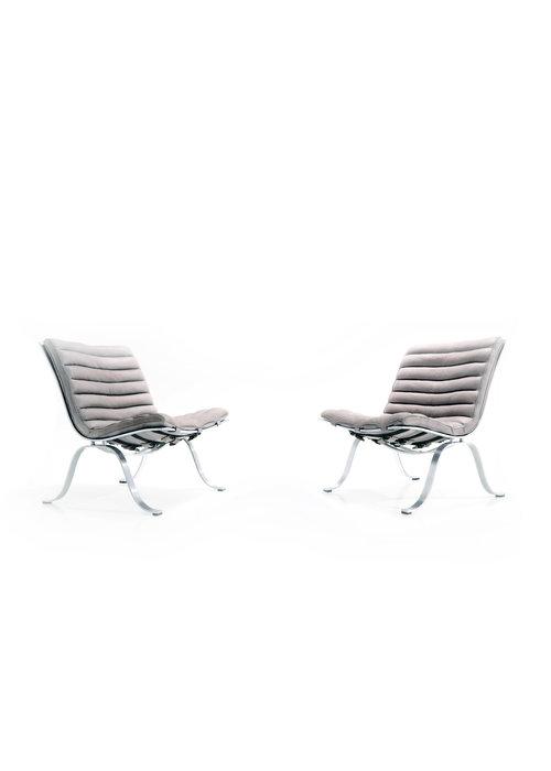 Set Ariet lounge chairs, 1968