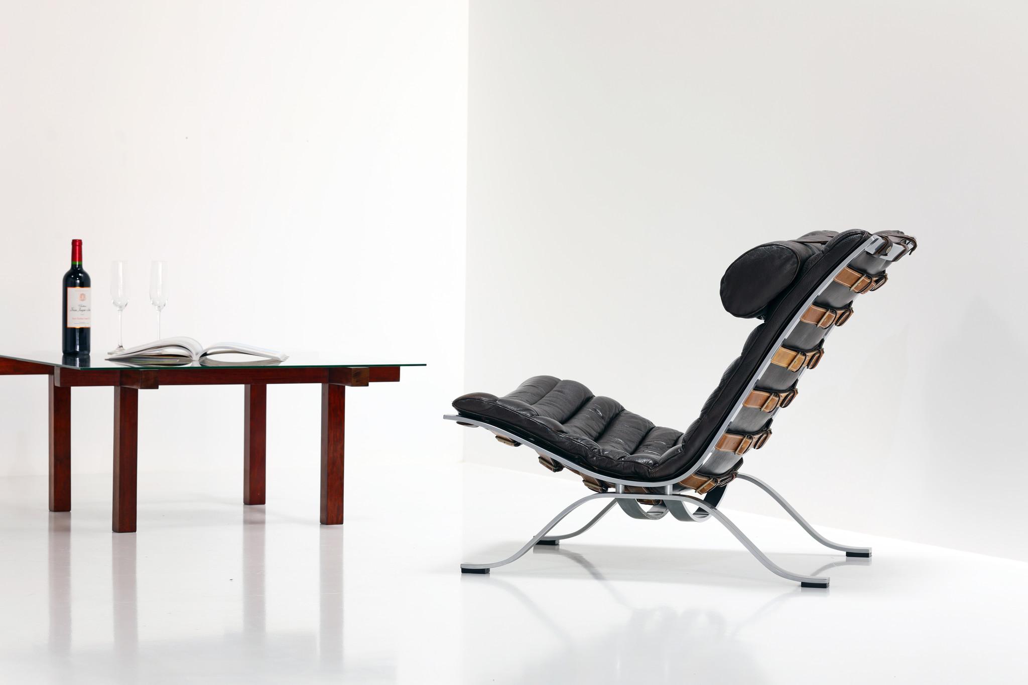 Ari Lounge chair ontworpen door Arne Norell voor Möbel AB Arne Norell, 1966