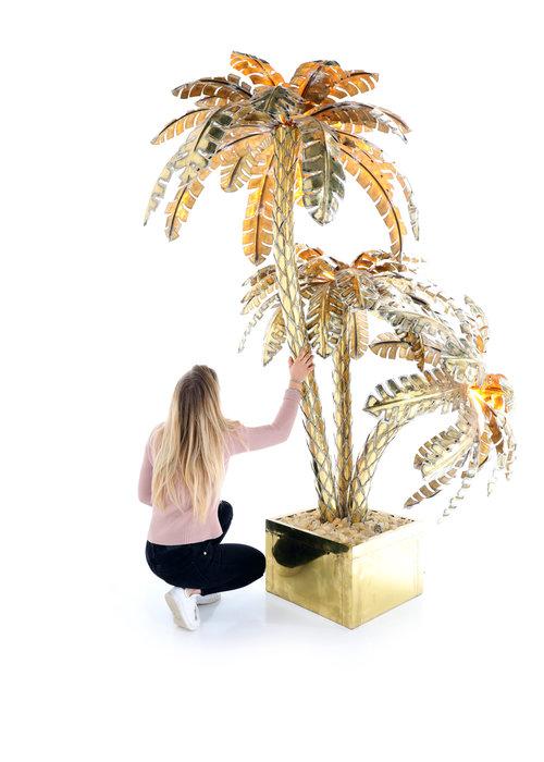 XXL palmboom lamp