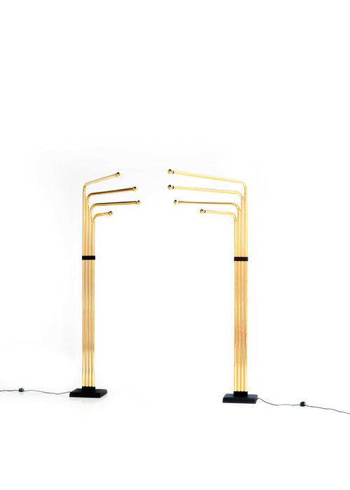 Goffredo Reggiani Floor lamp set, 1970