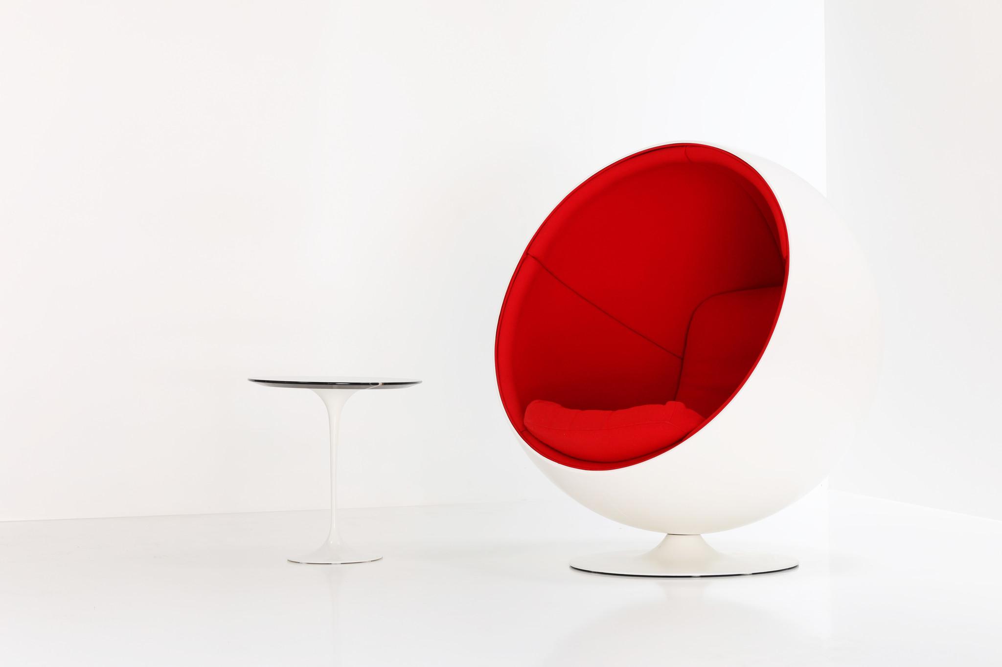 Eero Aarnio ball chair voor Adelta, 1963