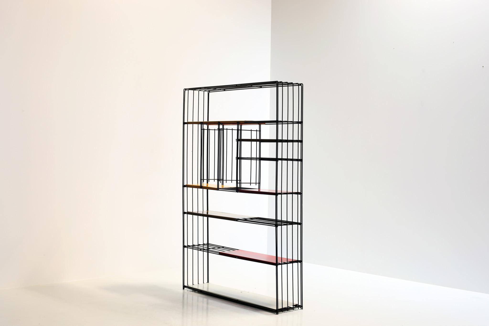 Extra Large Bookshelf by Tjerk Reijenga for Pilastro 1950's