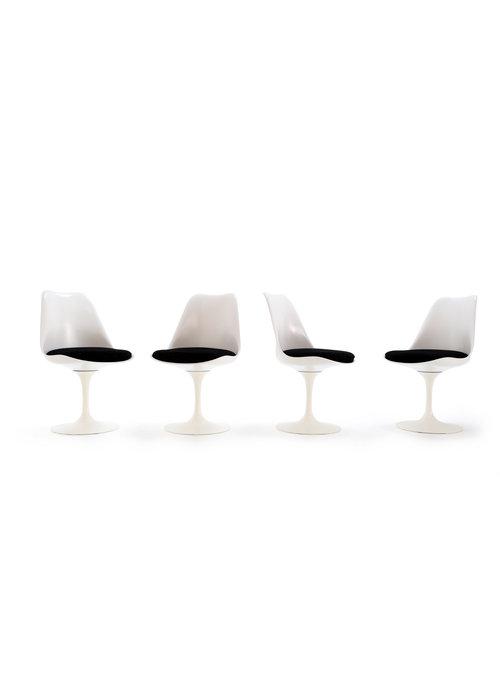 Set Knoll Tulip stoelen