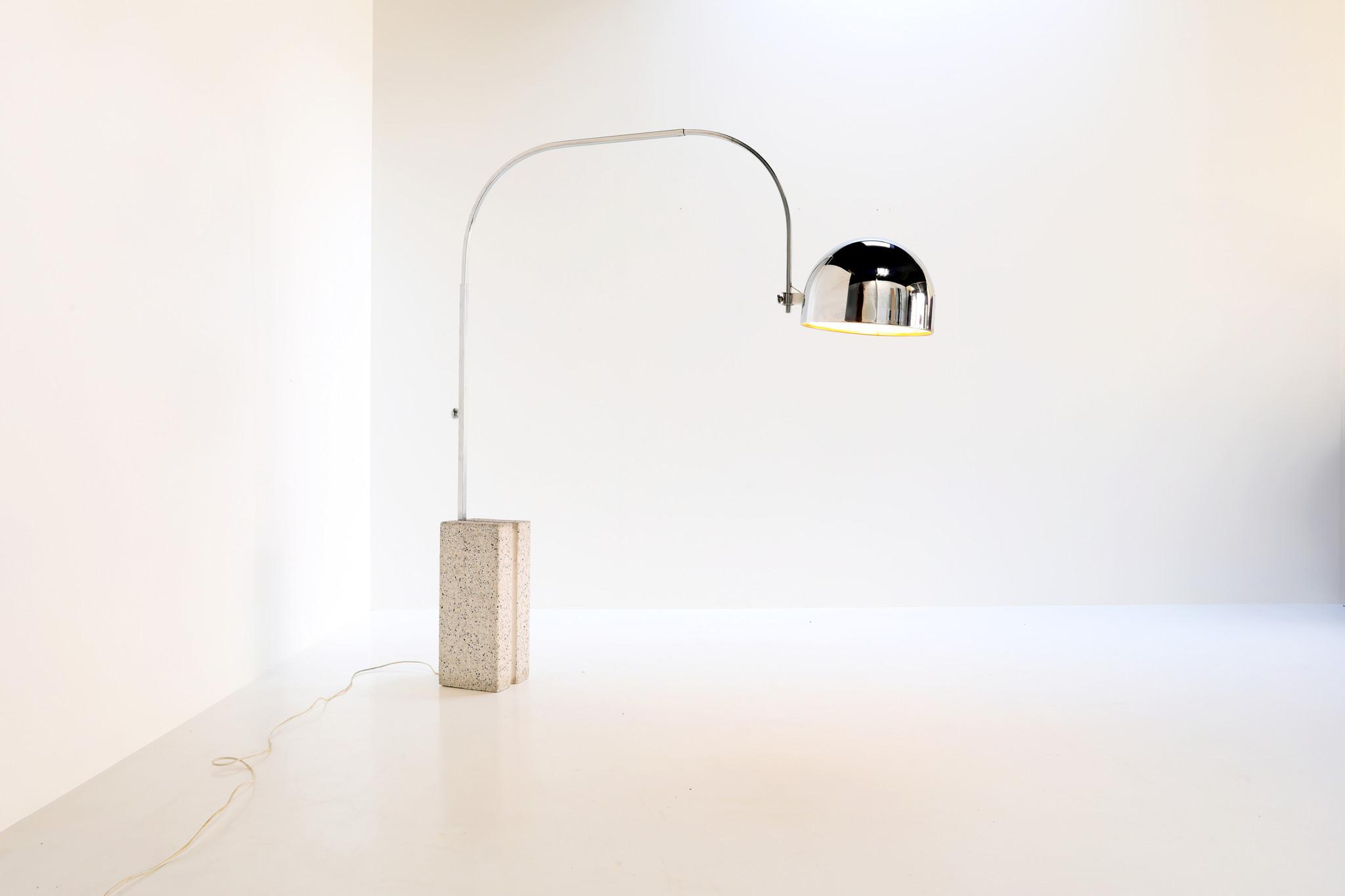Vintage arc lamp, 1960's