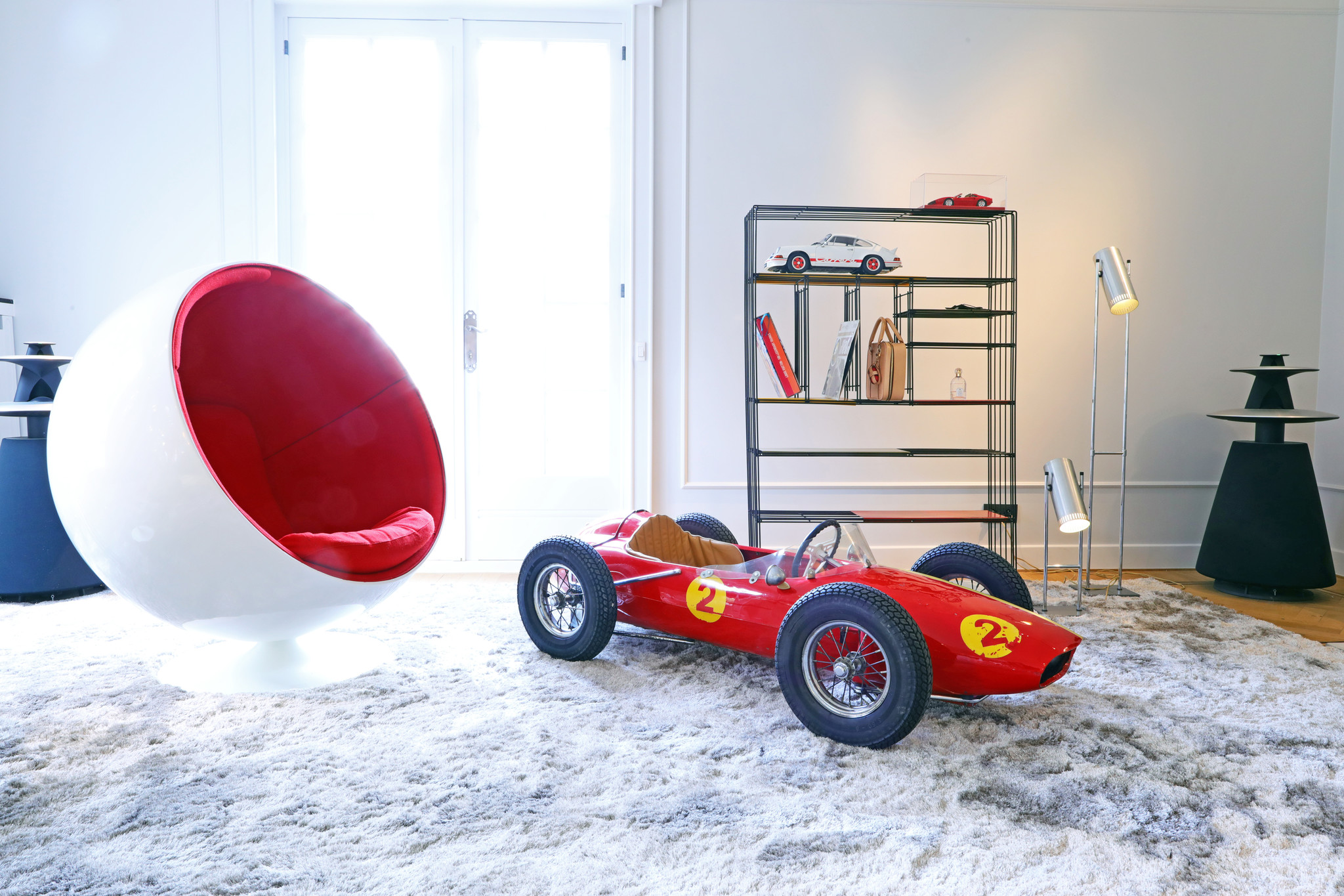 Devillaine Ferrari Ouragan, 1960's