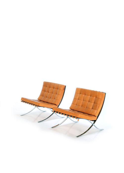 Barcelona Chairs, 1950's