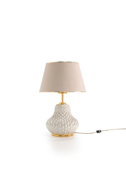 Keramische tafellamp 1960's