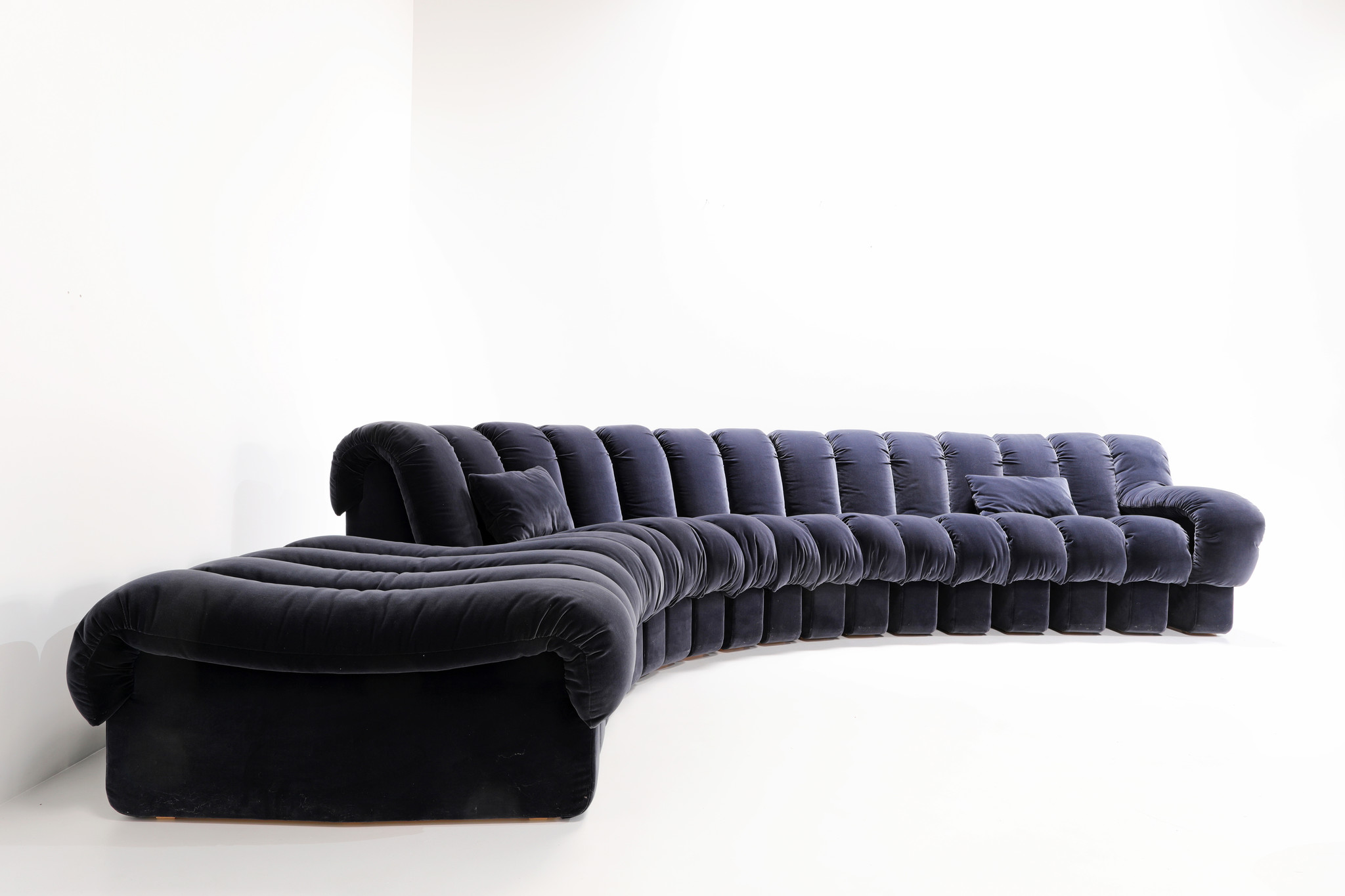 """THE ICONIC """"SNAKE SOFA"""" DE SEDE DS600"""