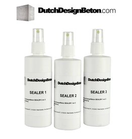 CRTE Three-step Sealer System for Design Concrete