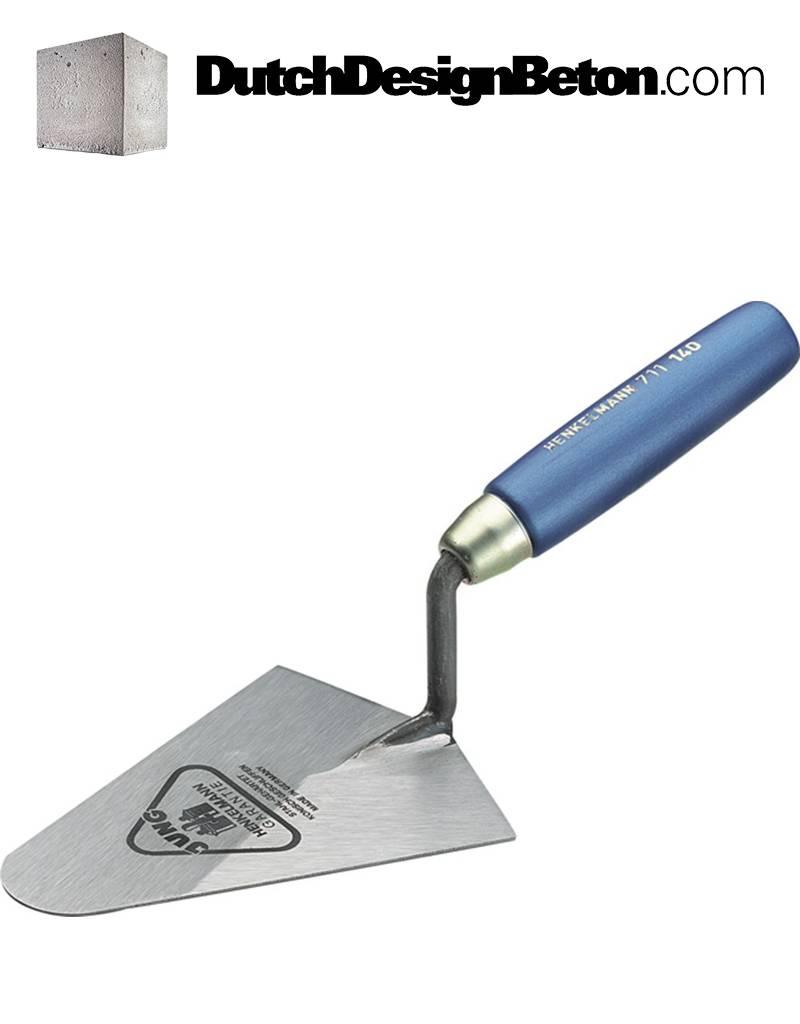 DutchDesignBeton.com Troffel met ronde hoek