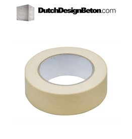 DutchDesignBeton.com Afplaktape 25MM (50Meter)