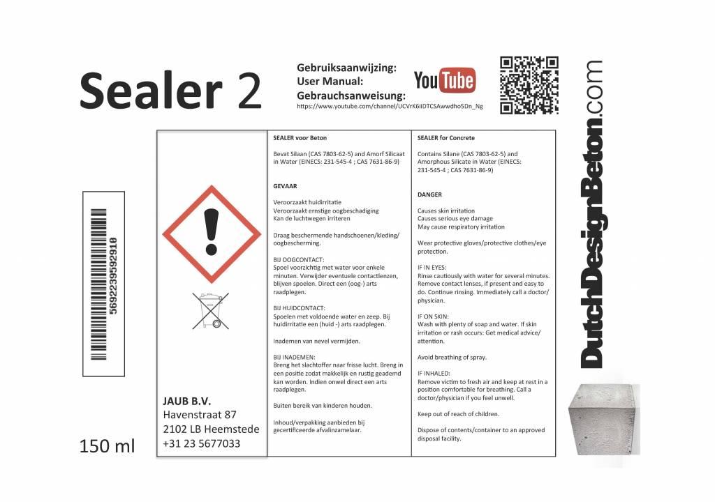 CRTE Stap 2 van het 3 staps Sealer systeem