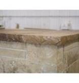 Concrete Countertop Voering- Leisteen -Grof gebeiteld