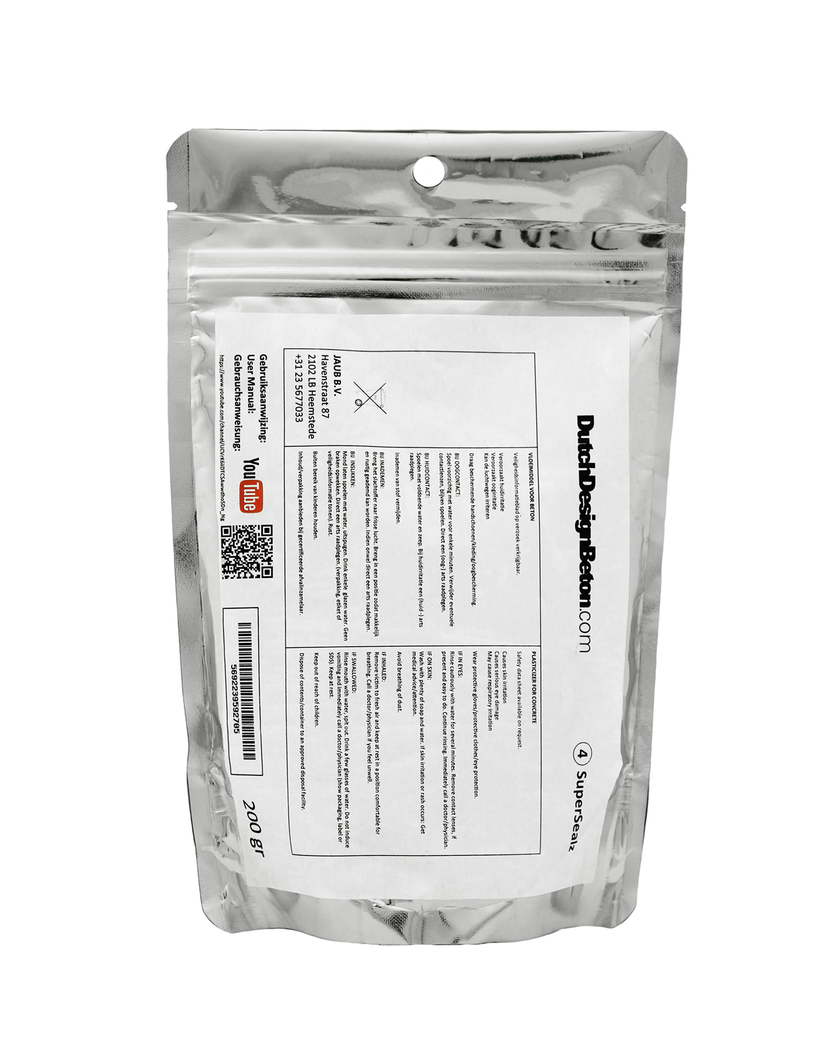 CRTE StarterPak PURE - GFRC - startpakket voor 37kg/18ltr/1m2