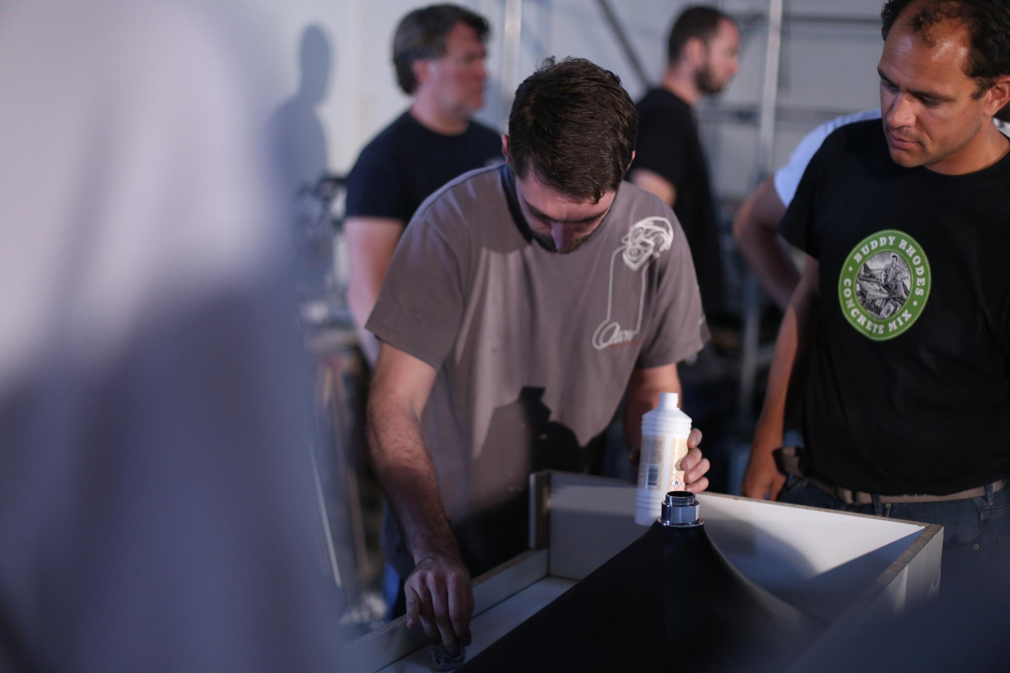 Buddy Rhodes Stage - Découvrez toutes les possibilités de fabrication du béton haute performance!