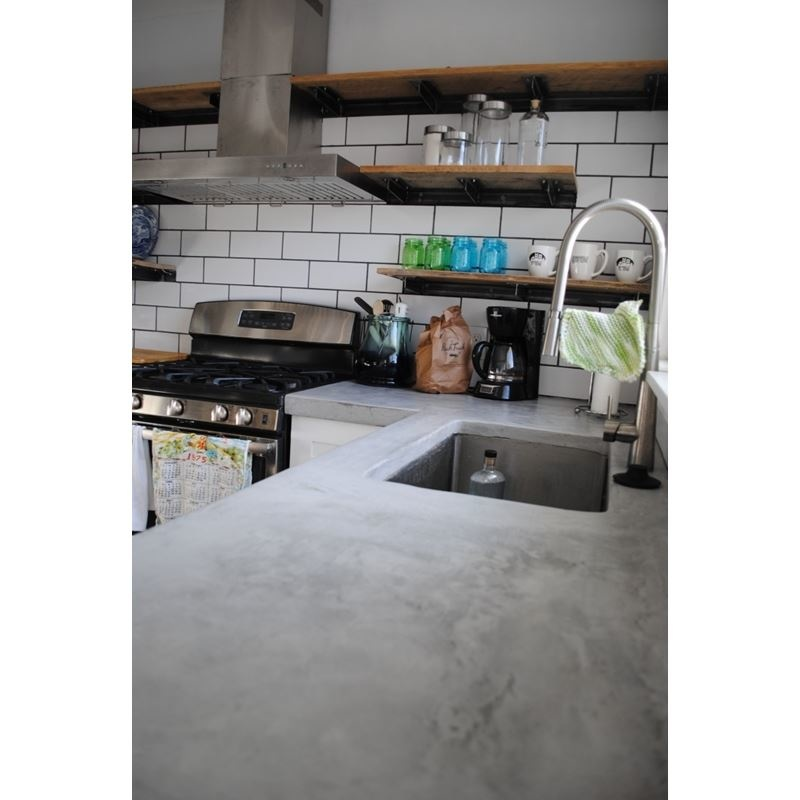 Concrete Countertop Self-adhering flexible sink form