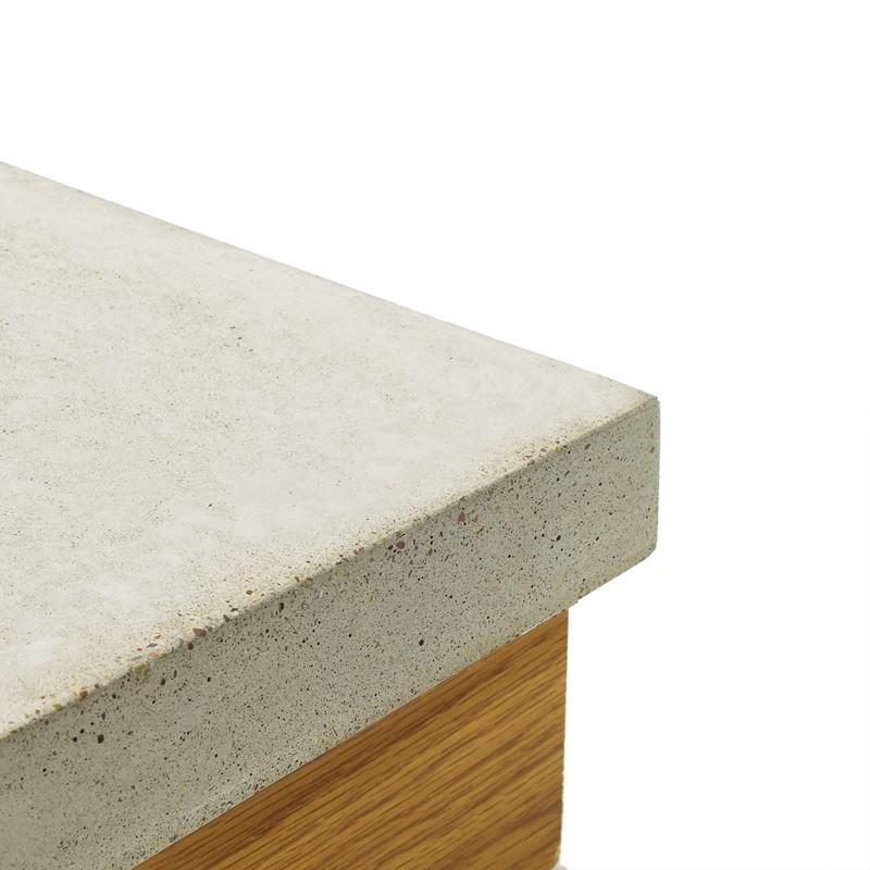 Concrete Countertop Randprofie l- Rechte hoek- EuroForm-32mm