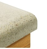 Concrete Countertop Kwartronde hoek -57mm