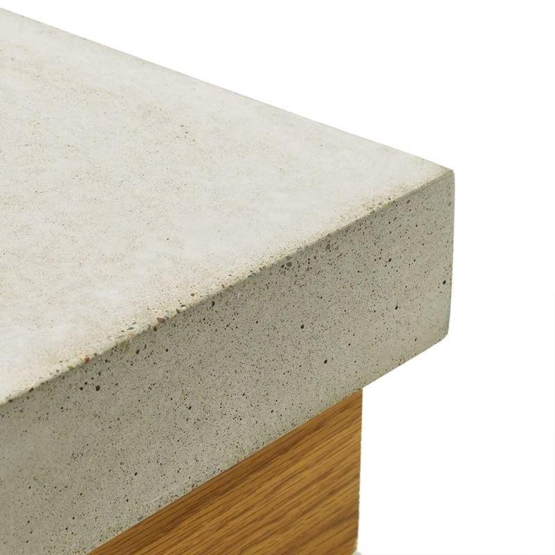 Concrete Countertop Randprofiel-Rechte hoek- 57mm