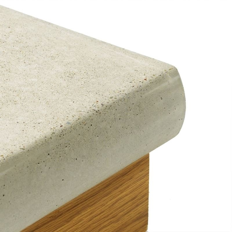 Concrete Countertop Half Bullnose- 57mm