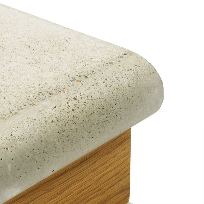 Concrete Countertop Randprofiel-Volledig rond - 57mm