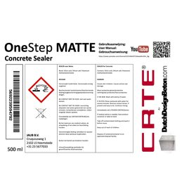 CRTE OneStep Sealer Matte