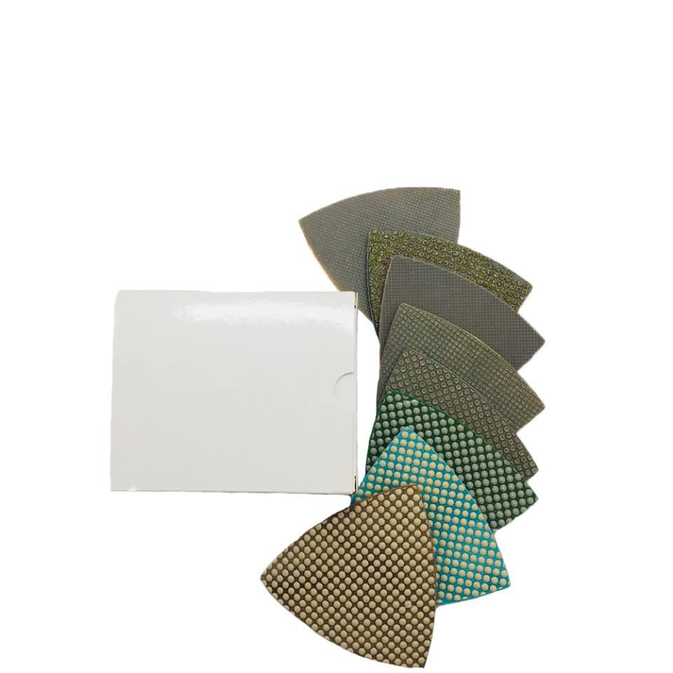 CRTE Triangle diamond polishing pad 400 (fine)