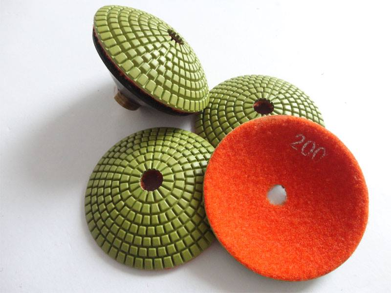 CRTE Convex Diamond polishing pad grit 400 (fine)