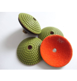CRTE Convex Diamond polishing pad grit 200 (middle)