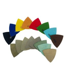 CRTE Triangle diamond polishing pad 100 (coarse)