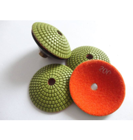 CRTE Convex Diamond polishing pad grit 100 (coarse)