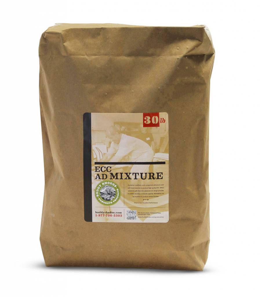 Buddy Rhodes ECC Admixture, developed according to the most advanced concrete technology