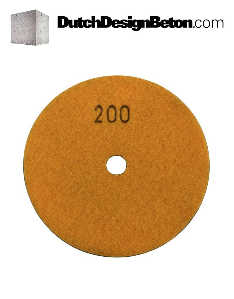 CRTE CRTE Combo Pack Diamond polishing pads grit 100, 200, 400