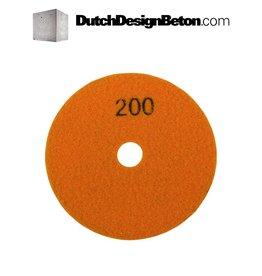 CRTE CRTE korrel 200 (middel) schuurschijf