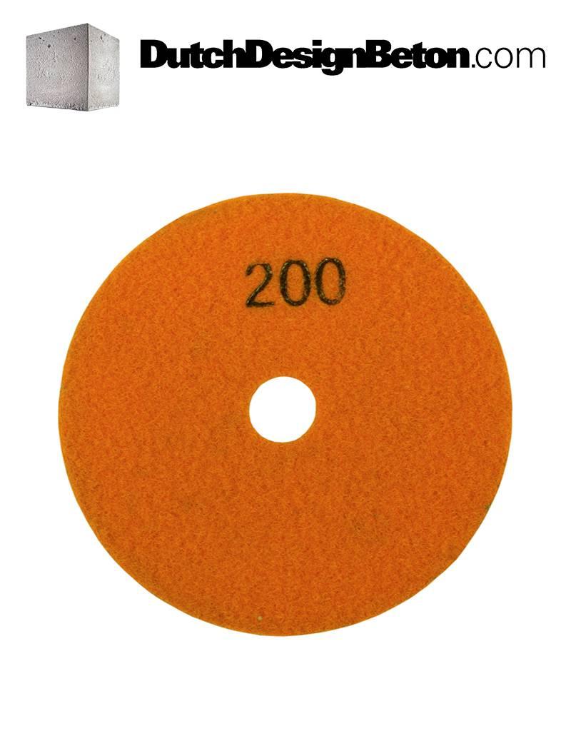 CRTE CRTE Diamant-Schleifpad 200 (mittel)