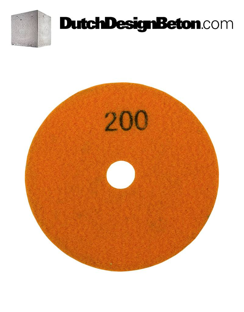 CRTE CRTE Diamant schuurschijf korrel 200 (middel) voor machine