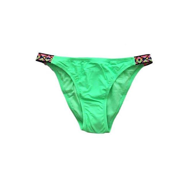 FestyFashion Bikini Broekje Aztec Groen XS- Supersale