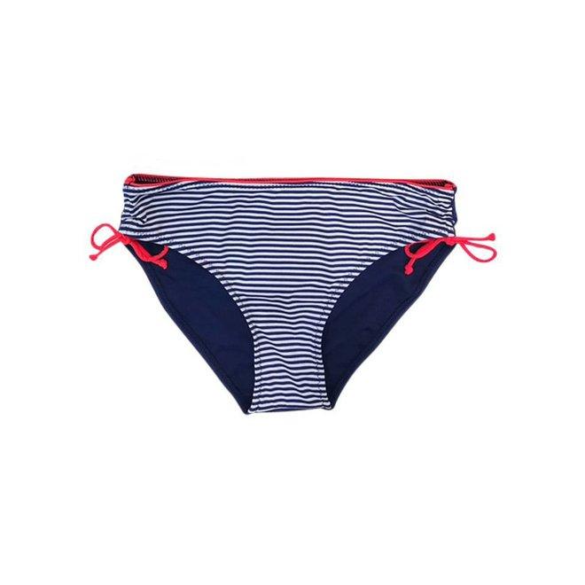 Bikinibroekje Stripe Blauw/ Rood XS -Supersale
