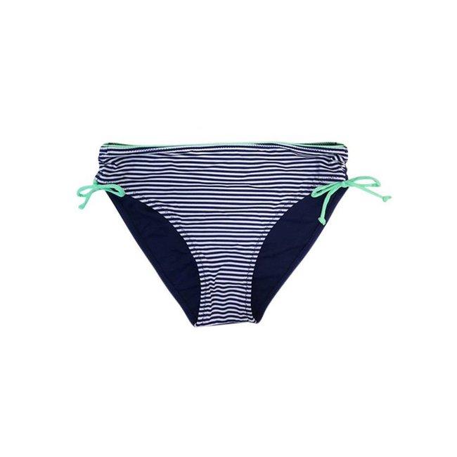 FestyFashion Bikinibroekje Stripe Blauw  Maat S-Supersale