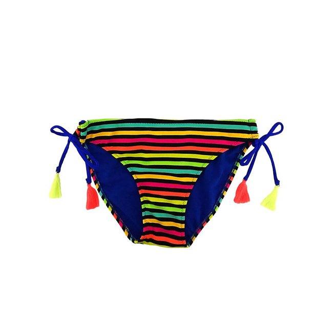 FestyFashion Bikinibroekje Boho Blauw XS,S- Supersale