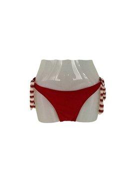 Bikini Broekje Laguna Rood XS t/m XL - Koopjeskelder