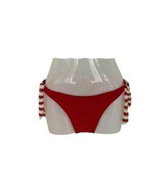 Bikini Broekje Laguna Rood XS t/m L - Koopjeskelder