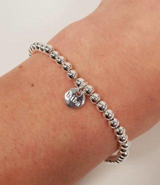 Biba Armband - Shine Zilver-Supersale